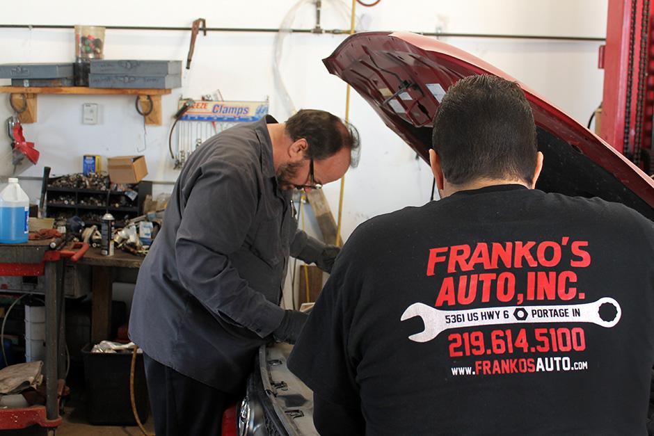 Frank tune ups auto repair portage indiana franko s for Homestead motors inc portage in